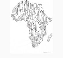 Africa Word Art Unisex T-Shirt