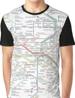 Paris Subway 2016 Graphic T-Shirt