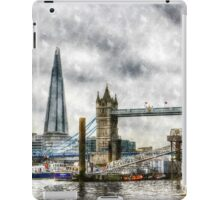 River Thames Art iPad Case/Skin