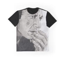Portrait of Jeff Goldblum Graphic T-Shirt