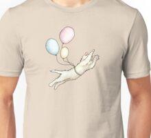 Kitten With Balloons - I'm Not Kitten Around Unisex T-Shirt