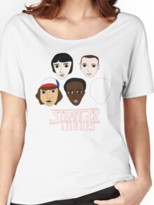Stranger Things Crew Women's Relaxed Fit T-Shirt