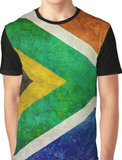 National flag of the Republic of South Africa Graphic T-Shirt
