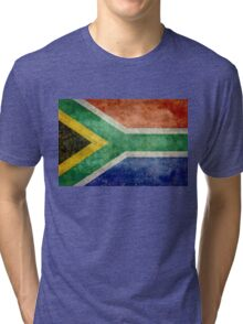 National flag of the Republic of South Africa Tri-blend T-Shirt