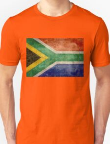 National flag of the Republic of South Africa Unisex T-Shirt