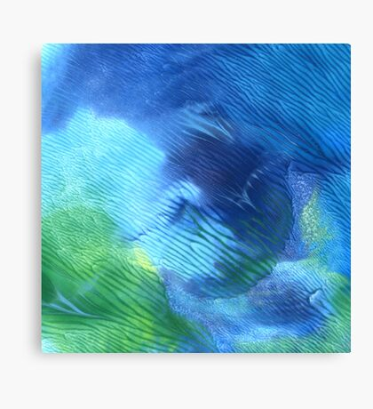 The Forest Pool - Abstract Print Canvas Print