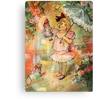 FUN WITH DOLLY Canvas Print