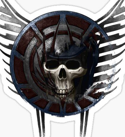 Battle Crest Sticker