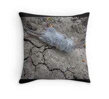 One rat escape from the Zoo of Death Throw Pillow