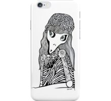 Skull Cap Girl iPhone Case/Skin