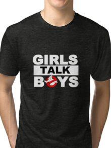 ✦ girls talk boys ✦ *5sos* Tri-blend T-Shirt