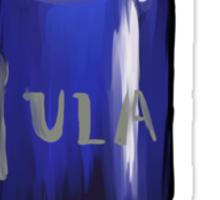 blue oblivion  Sticker