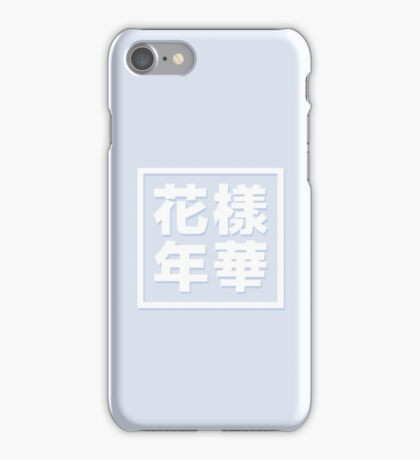 BTS In the mood for Love Designs BLUE iPhone Case/Skin