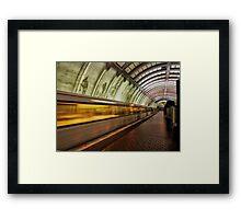 DC Metro Framed Print