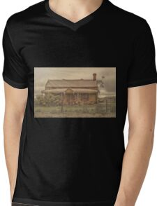 Rustic House Mens V-Neck T-Shirt