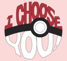 pokemon i choose you Kids Tee