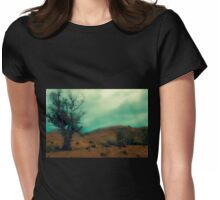 Out Of The Mist Womens Fitted T-Shirt