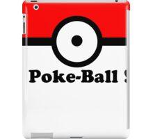Poke Ball Print iPad Case/Skin