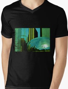 Chicago 3- Green Bean Mens V-Neck T-Shirt