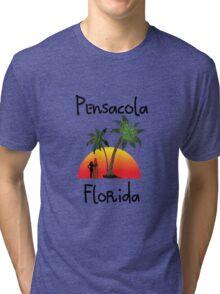 Pensacola Florida Tri-blend T-Shirt