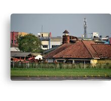 old warehouse Canvas Print