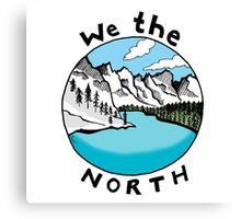 We The North 01 Canvas Print