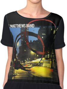 DAVE MATTHEWS BAND - BEFORE THESE CROWDEDSTREETS - COVER Chiffon Top