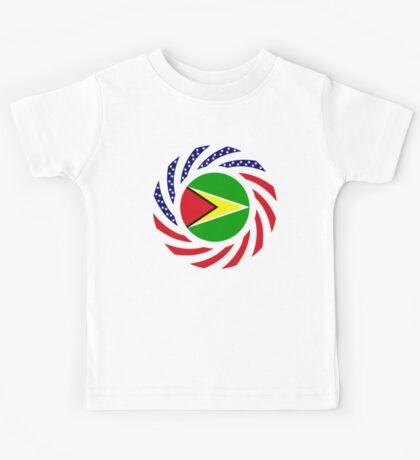 Guyanese American Multinational Patriot Flag  Kids Tee