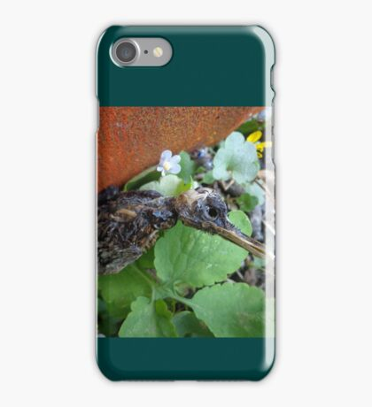 Another bird escape from the Zoo of Death iPhone Case/Skin