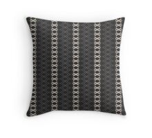 PATTERNATION|GREY STRIPES| RB EXCLUSIVE Throw Pillow