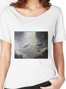 Ghost Ships  Women's Relaxed Fit T-Shirt