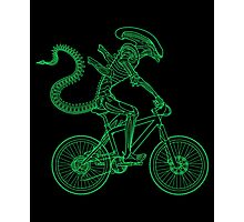 Alien Ride Photographic Print