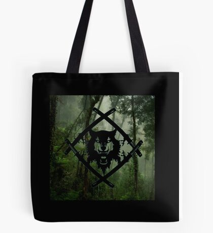 HollowSquad Black Forest Tote Bag