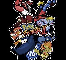 Poke Fighter II by KindaCreative