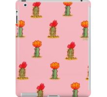 Colorful Cactus in Pink iPad Case/Skin