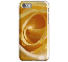 Raindrops on yellow iPhone Case/Skin