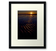 Bunbeg Beach, County Donegal, Ireland Framed Print