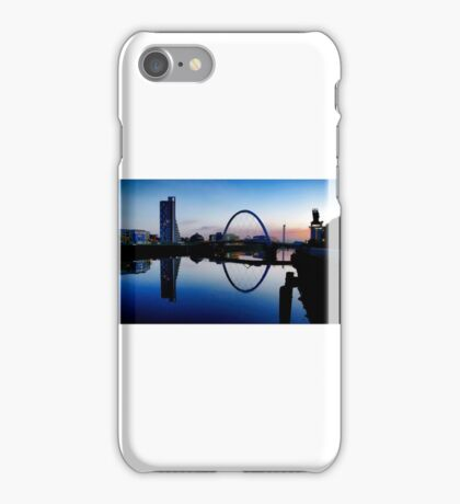 The River Clyde, Glasgow. iPhone Case/Skin