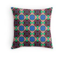 PATTERNATION| PURPLE HIPPY DIPPY| RB EXCLUSIVE Throw Pillow