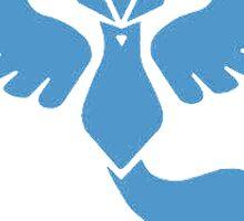 Team Mystic Blue Pokemon Go Sticker