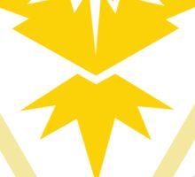 Team Instinct Yellow Pokemon Go Sticker