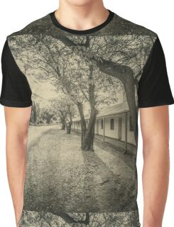 Old Cottages Graphic T-Shirt