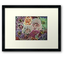 All The Pretty Flowers Framed Print