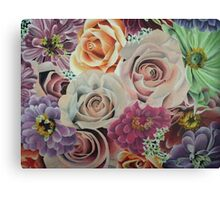 All The Pretty Flowers Canvas Print
