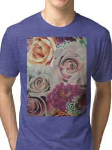 All The Pretty Flowers Tri-blend T-Shirt