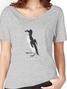 Socially Aukward Pinguinus Women's Relaxed Fit T-Shirt