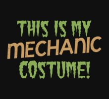 This is my Mechanic costume for Halloween! by jazzydevil
