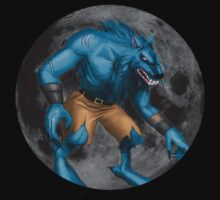 Sabrewulf Killer instinct character illustration by murderwear