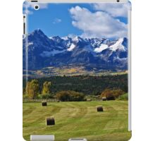 Hay With A View iPad Case/Skin