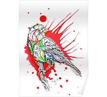 Abstract Bird 002 Poster